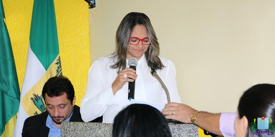 Prefeita Maria Olímpia participa de reunião ordinária na Câmara de Vereadores com vistas a ampliar diálogo com o Legislativo.