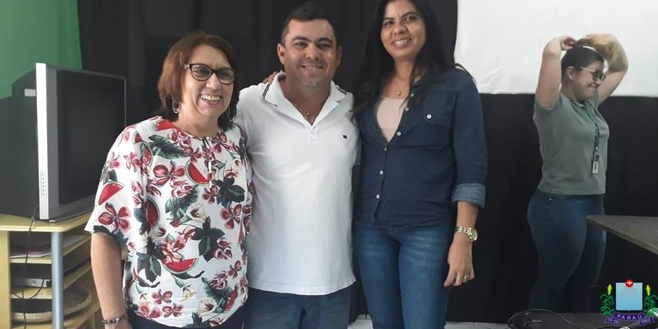 Representantes do Município de Paraú, participaram de reunião para discutir construção de Barragens Subterrâneas.