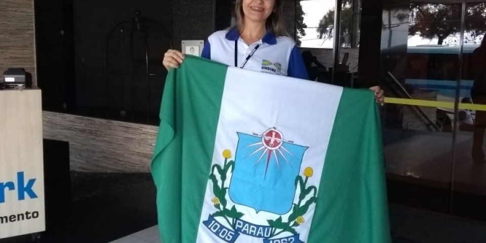 Secretária de Educação de Paraú, Vanda Aquino representa o município de Paraú no    7º Fórum Extraordinário Nacional.