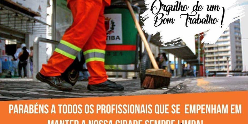Homenagem da prefeitura Municipal de Paraú ao Dia do Gari.