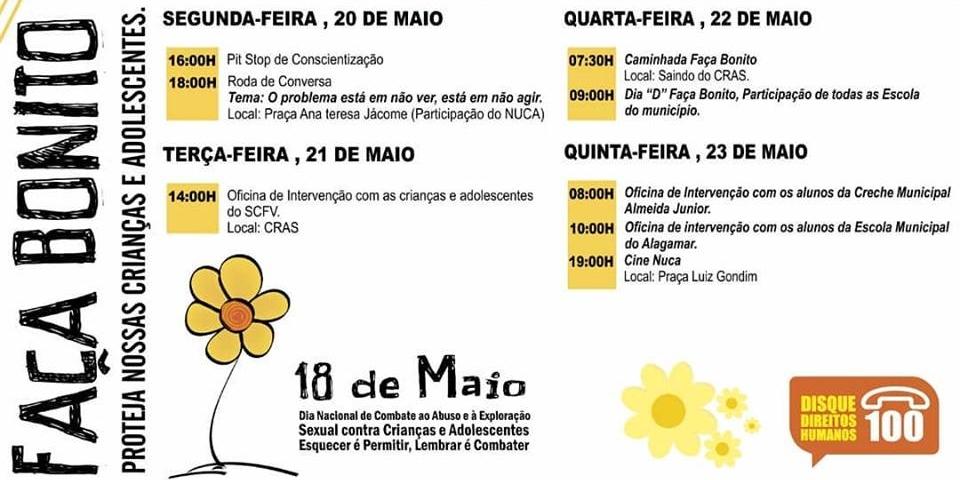 Prefeitura de Paraú divulga cronograma da campanha faça bonito  VAMOS FAZER BONITO JUNTOS?