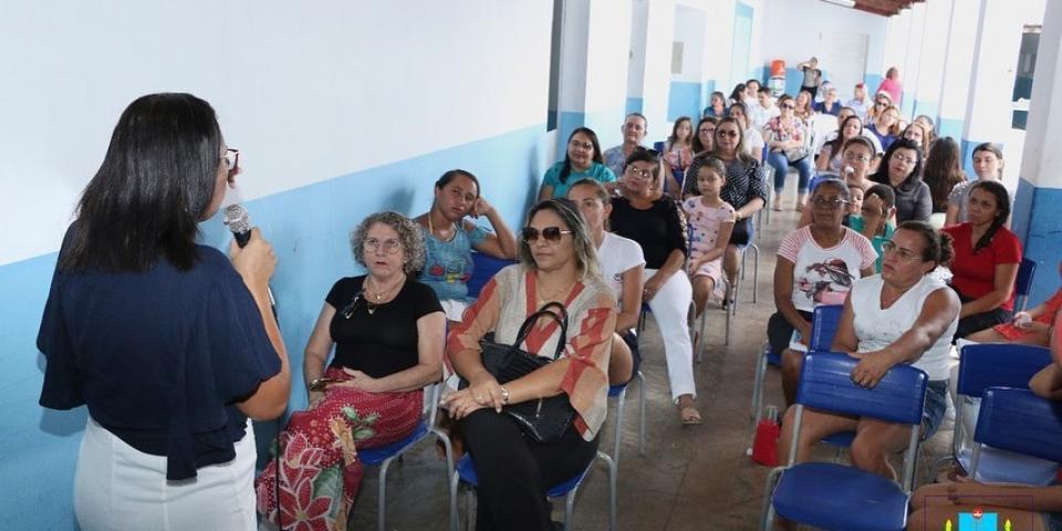 Prefeita Maria Olímpia participa da Jornada Pedagógica/2020.