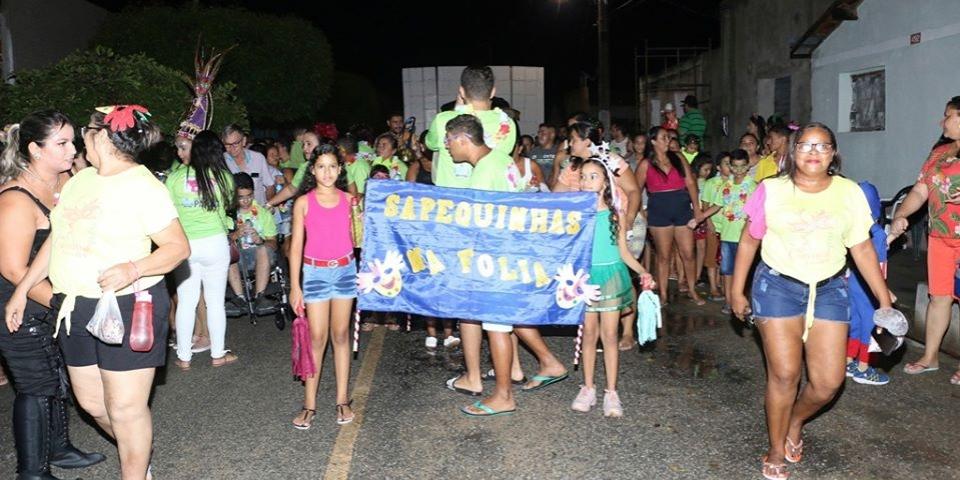 Abertura oficial do carnaval em Paraú aconteceu com grande Inclusão para todos.