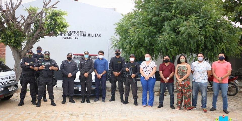 Prefeitura reforma prédio do departamento de Polícia