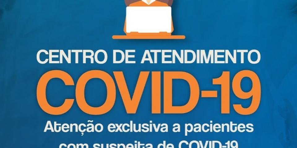 Prefeitura cria o Centro de Referência ao Covid-19 para atendimentos dos pacientes suspeitos.