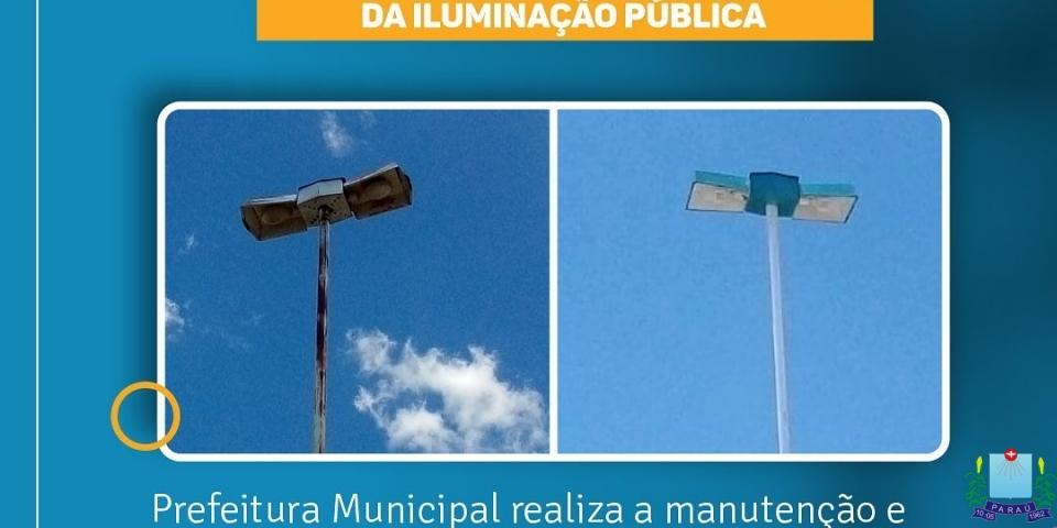 Revisão, manutenção e revitalização da iluminação pública na RUA BENEDITO PEIXOTO
